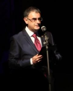 José Ferrándiz Lozano en la presentació del Tractat d'Almisra (2015)