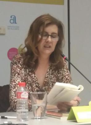 Blanca Andreu mesa