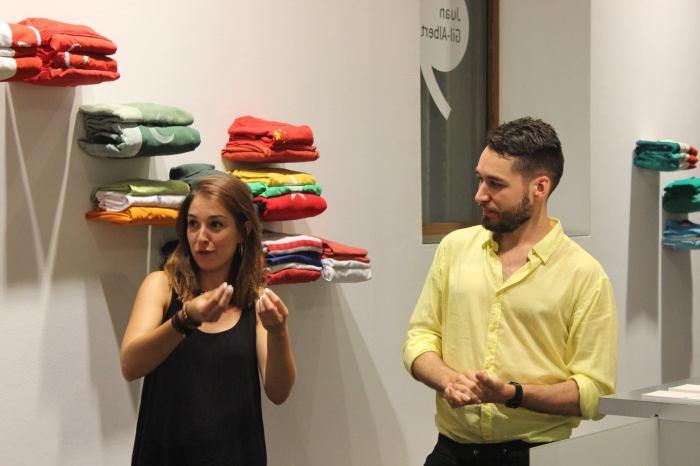 Andrea Brotons y Juan Carlos Rosa Casasola