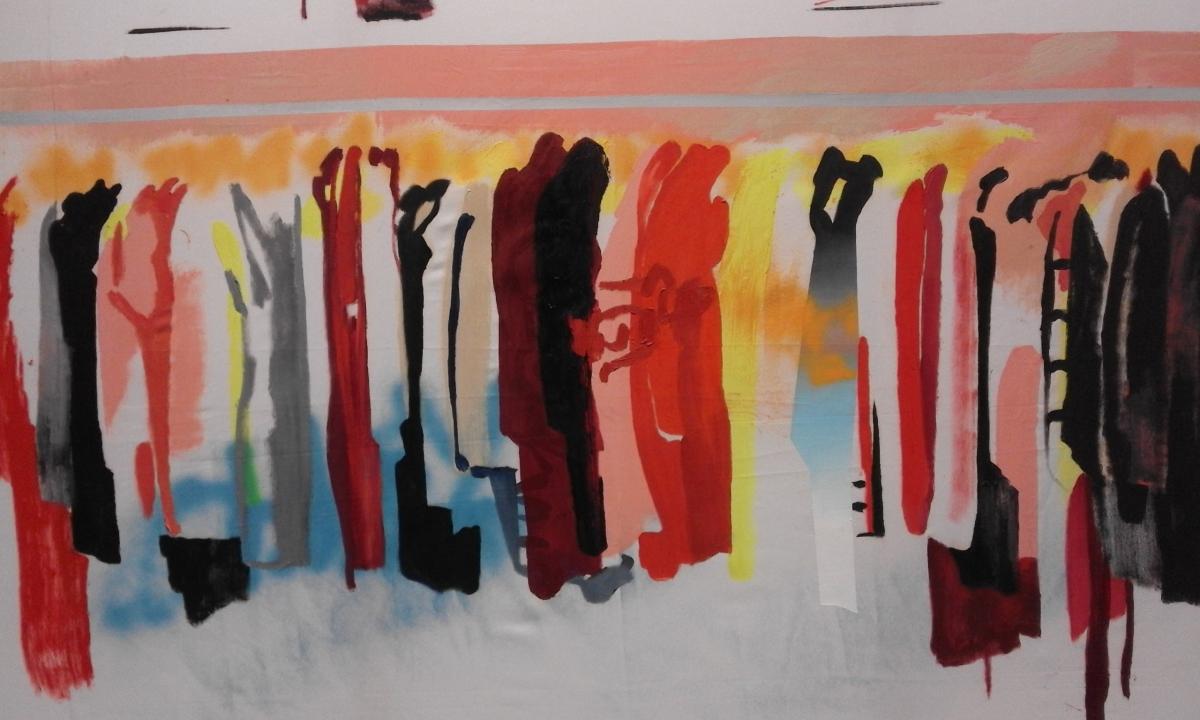 La ropa usada y el arte