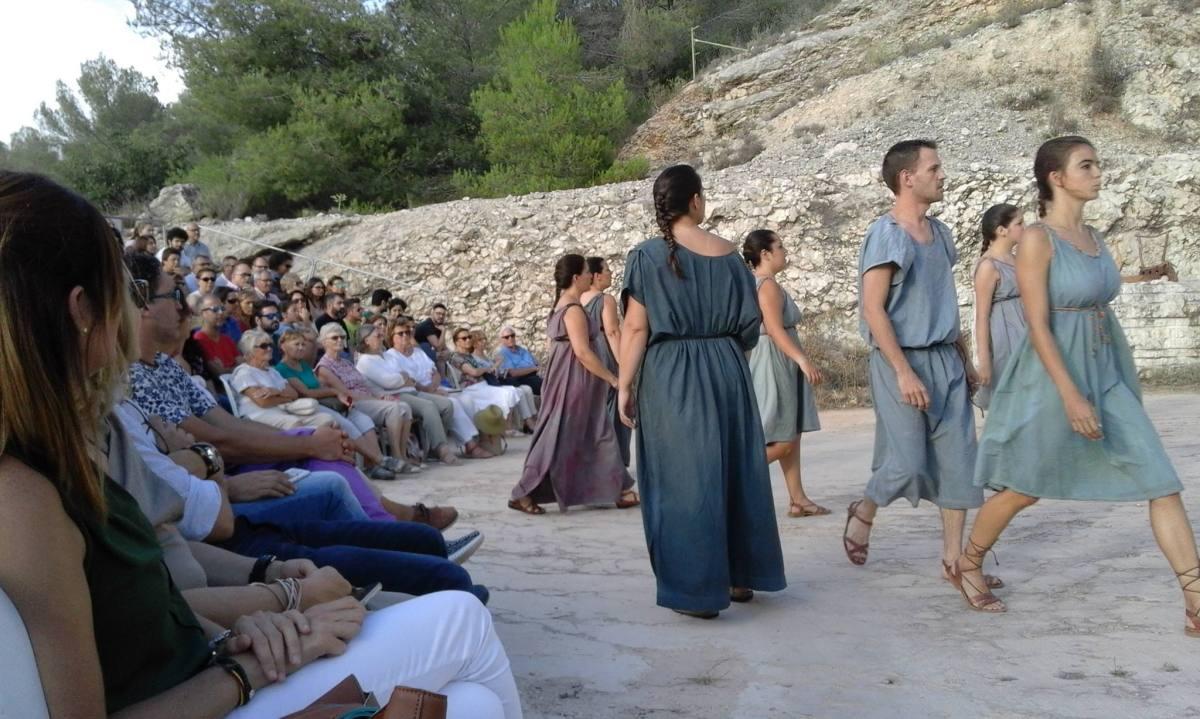 Teatro grecolatino en la cantera